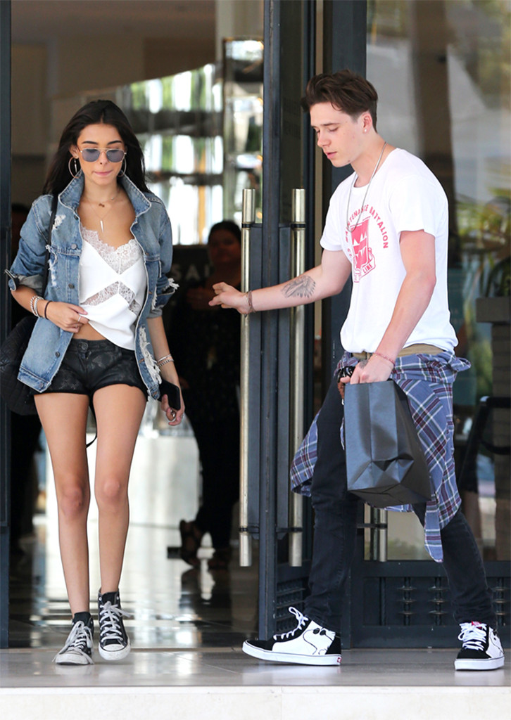 786cc36481 Brooklyn Beckham and Madison Beer Step Out in Los Angeles After PDA-Filled  Date